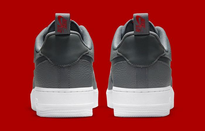 Nike Air Force 1 Grey White DN4433-001 back
