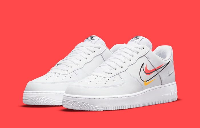 Nike Air Force 1 Low Multi Swoosh White DM9096-100 – Fastsole