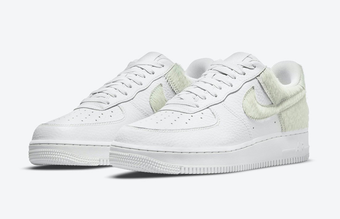 Nike Air Force 1 Low Photon Dust White DM9088-001 front corner