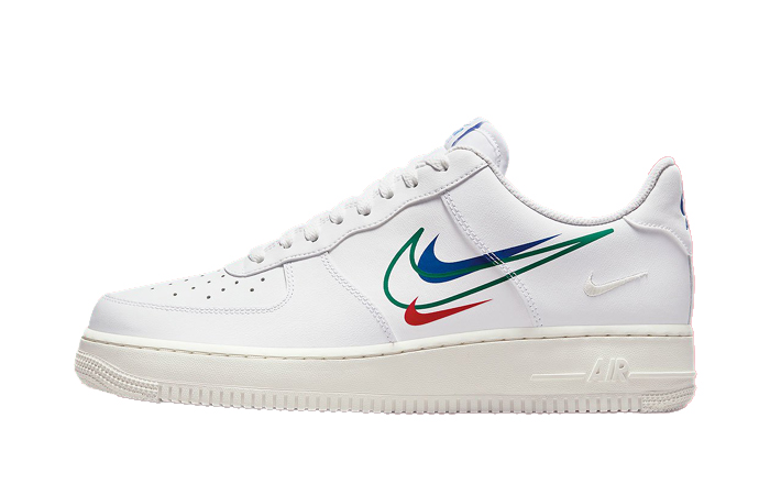 Nike Air Force 1 Multi Swoosh White DM9096-101 featured image