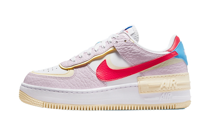 Nike Air Force 1 Shadow Pink Yellow Womens DN5055-600 featured image