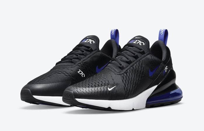 Nike Air Max 270 Persian Violet DN5464-001 front corner