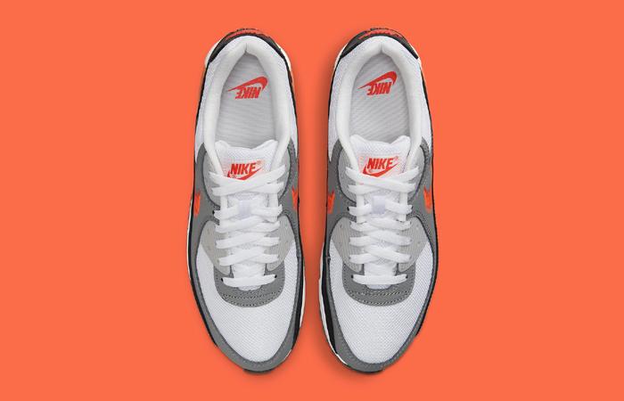 Nike Air Max 90 Zig Zag Grey White DN4927-100 up