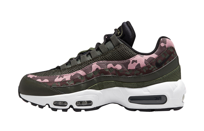 Nike Air Max 95 Camo Olive Pink Womens DN5462-200 featured image