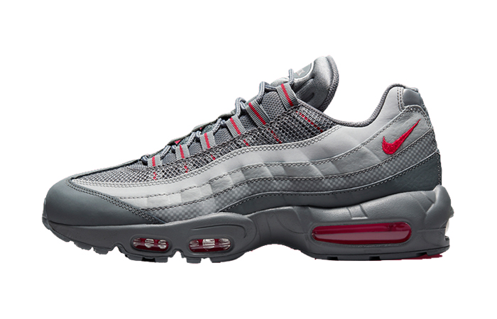 Nike Air Max 95 Grey Red DM9104-002 featured image