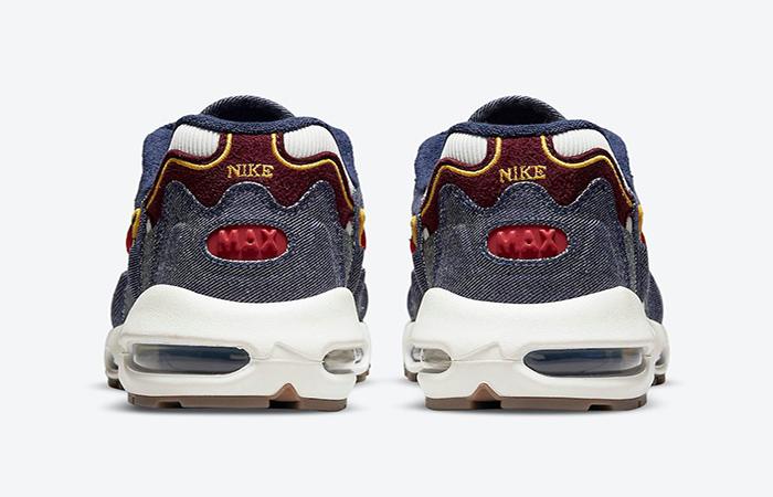 Nike Air Max 96 II Blackened Blue DJ6742-400 back