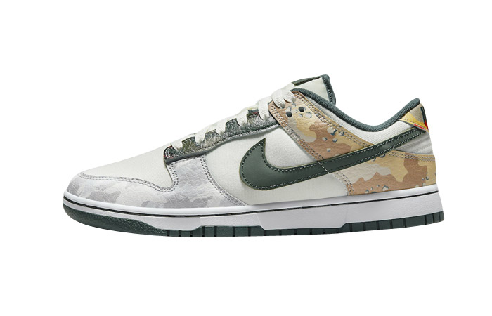 Nike Dunk Low SE Camo White DH0957-100 featured image