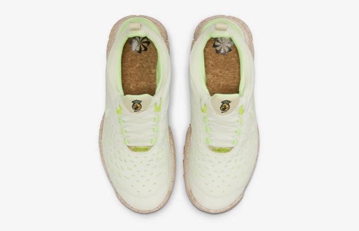 Nike Free Run Trail Pineapple CZ9079-100 up