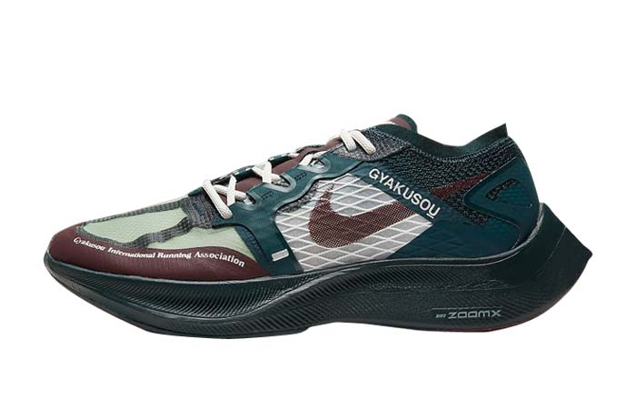 Nike Gyakusou ZoomX VaporFly Green Burgundy CT4894-300 featured image