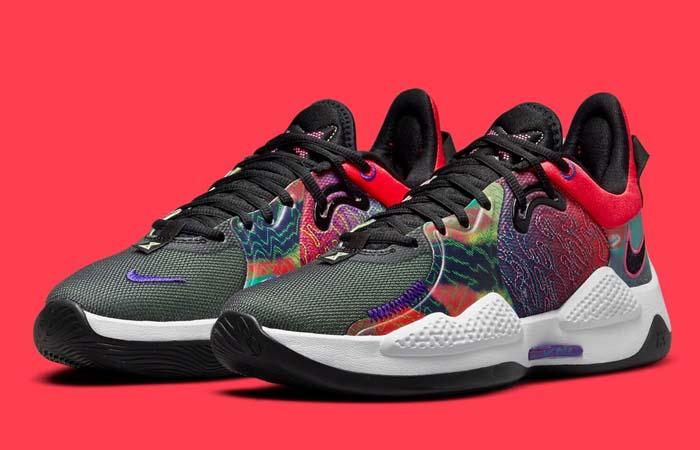 Nike PG 5 Multi CW3143-600 front corner
