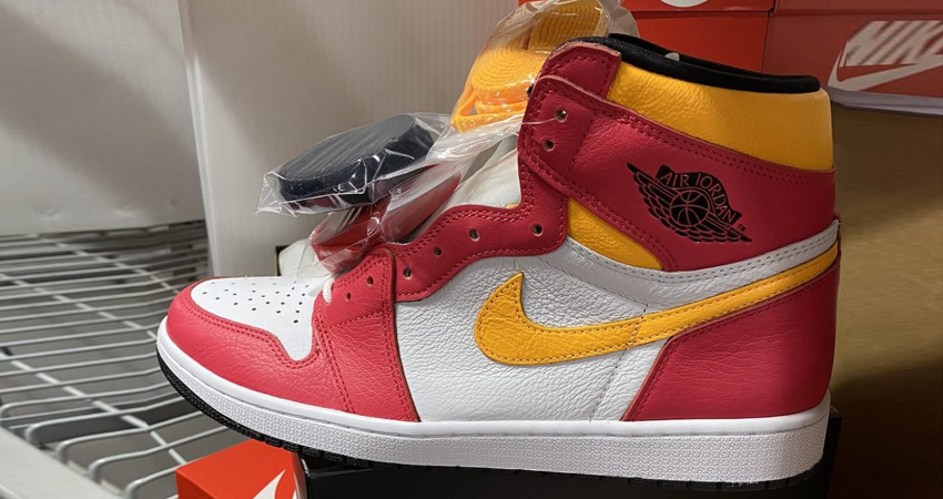 Release Details for Air Jordan 1 High Light Fusion Red White 02