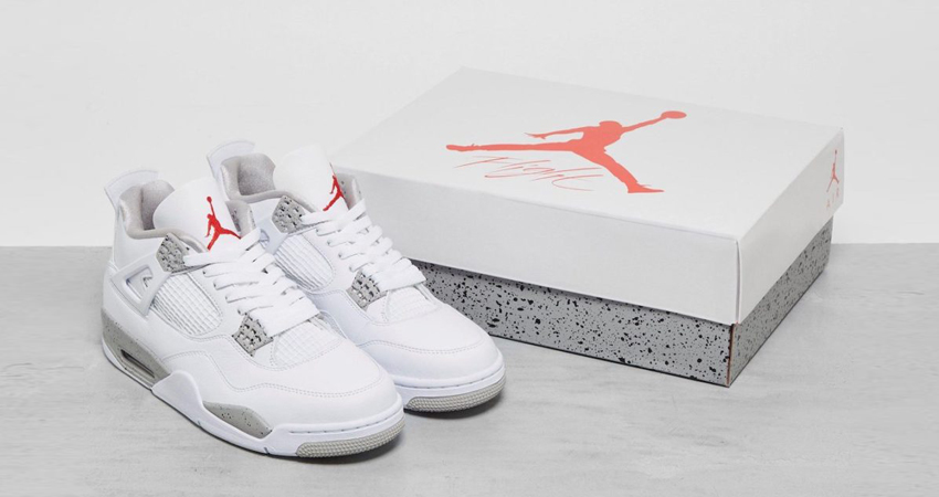 Release Details for Air Jordan 4 White Oreo featured image