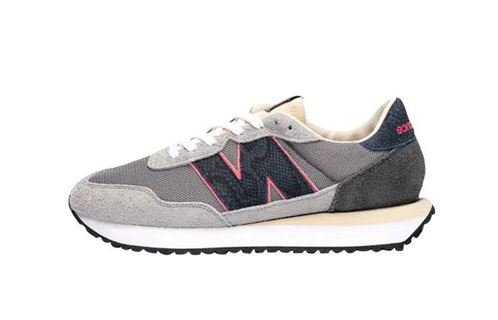SNS New Balance 237 Snakeskin Grey MS237NS Featured Image