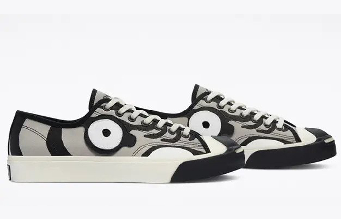 Soulgoods Converse Jack Purcell Tiger Grey 169907C right