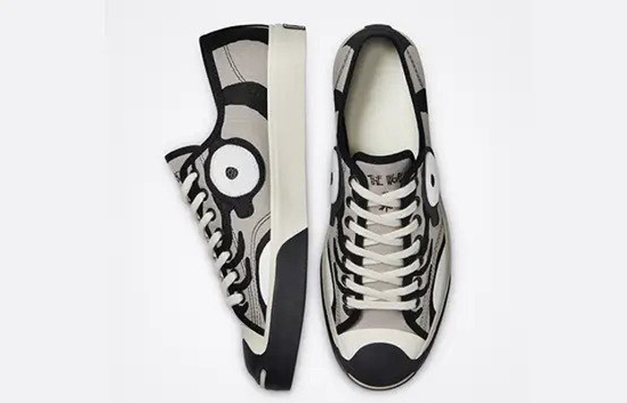Soulgoods Converse Jack Purcell Tiger Grey 169907C up