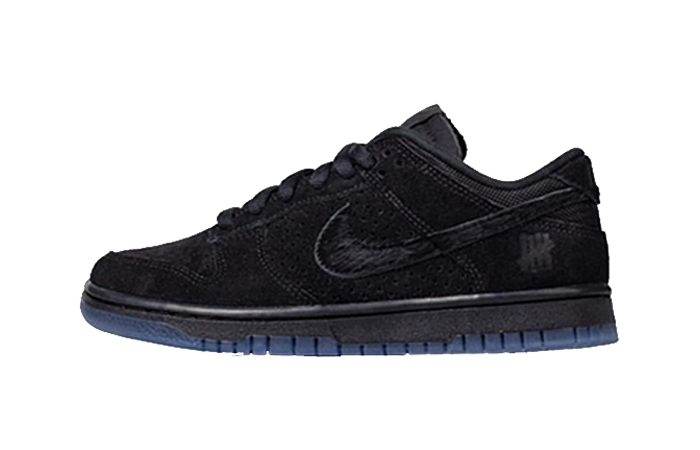 Undefeated Nike Dunk Low Black DO9329-001 featured image