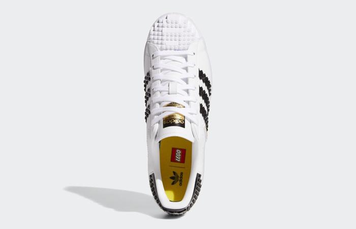 adidas Superstar Lego Cloud White Black GW5270 up