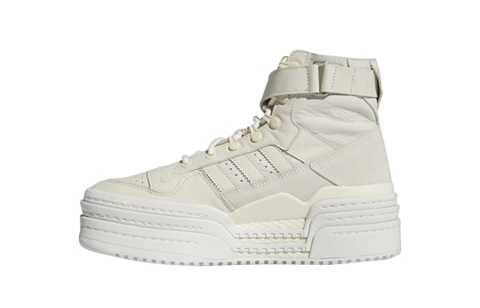 adidas Triple Platforum Hi Off White Womens S42803 featured Image