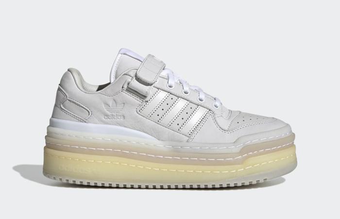 adidas Triple Platforum Lo Crystal White GZ8644 right
