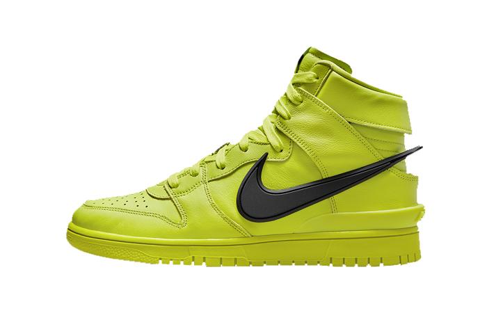 Ambush Nike Dunk High Atomic Green CU7544-300 featured image