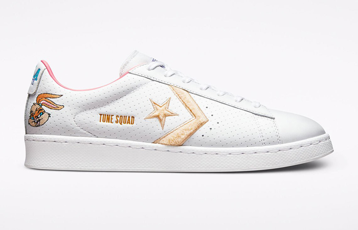 Converse Pro Leather Low Lola White 172481C right