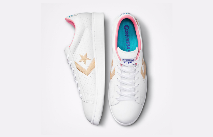 Converse Pro Leather Low Lola White 172481C up