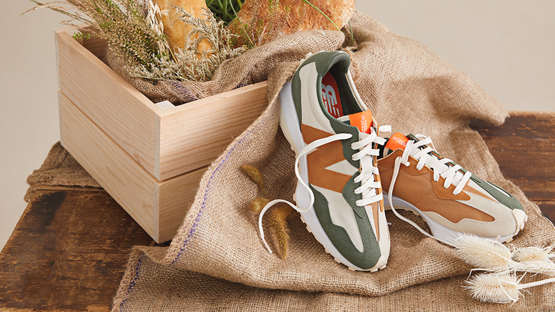 """Detailed Look at Todd Snyder New Balance 327 """"Farmers Market"""" Pack 01"""