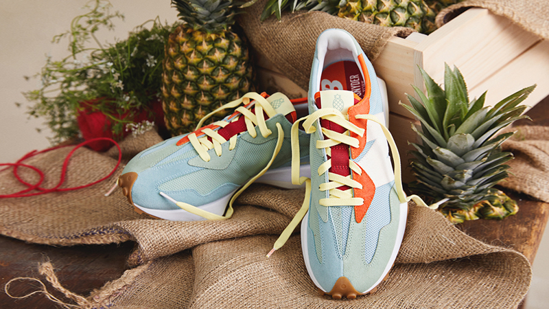 """Detailed Look at Todd Snyder New Balance 327 """"Farmers Market"""" Pack 02"""