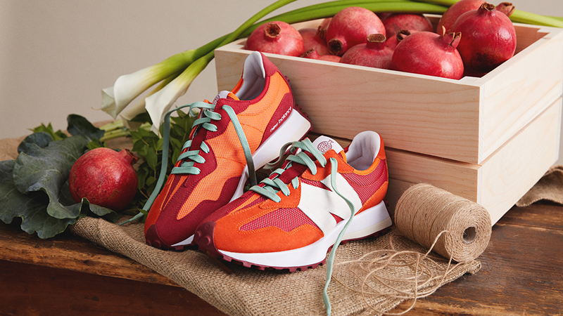 """Detailed Look at Todd Snyder New Balance 327 """"Farmers Market"""" Pack 03"""