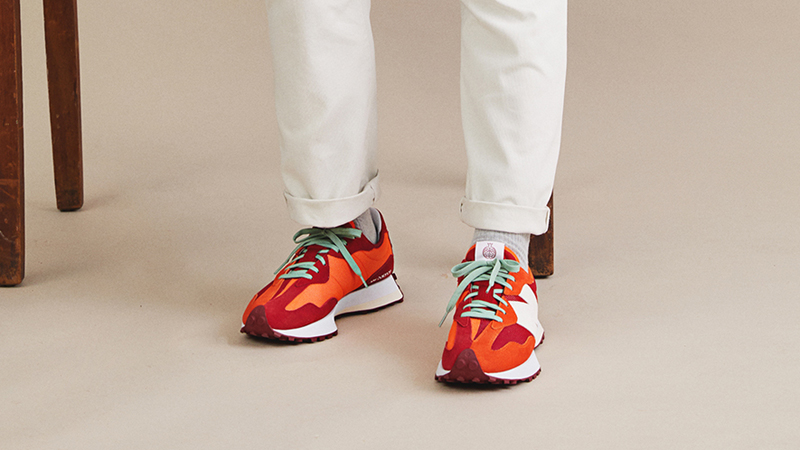 """Detailed Look at Todd Snyder New Balance 327 """"Farmers Market"""" Pack 09"""