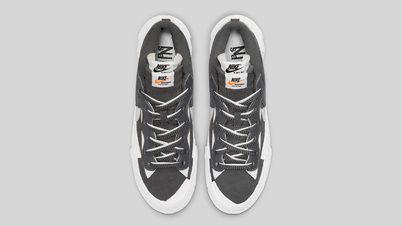 Detailed Look sacai Nike Blazer Low Pack 05