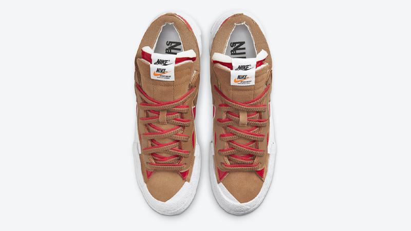 Detailed Look sacai Nike Blazer Low Pack 06