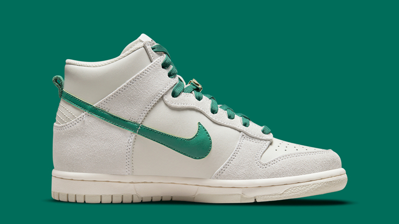First Look at Nike Dunk High First Use Sail Green 02