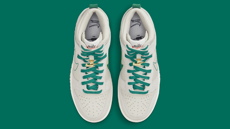 First Look at Nike Dunk High First Use Sail Green 03