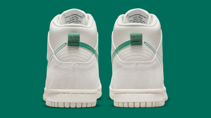 First Look at Nike Dunk High First Use Sail Green 04
