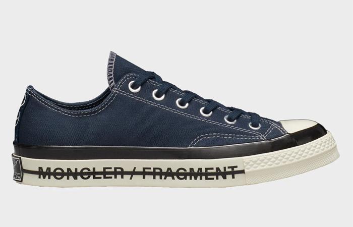 Fragment Design Moncler Converse Chuck 70 Navy right