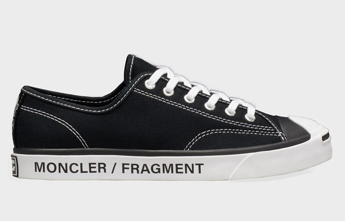 Fragment Design Moncler Converse Jack Purcell Black right