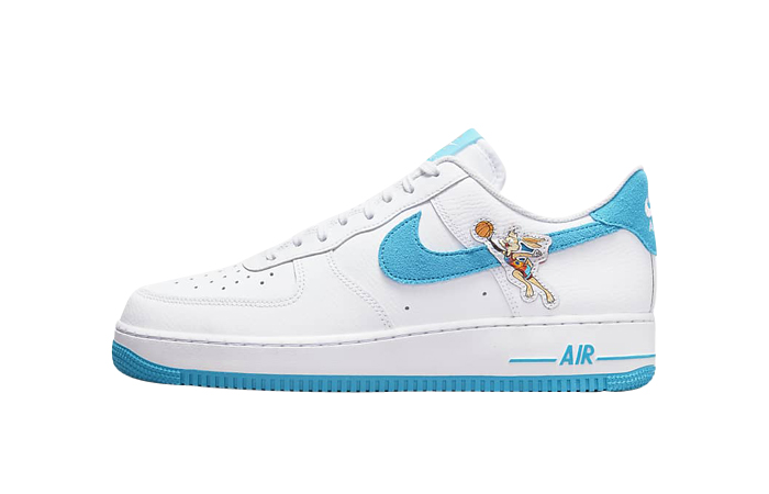 Nike Air Force 1 07 Space Jam White Light Blue featured image