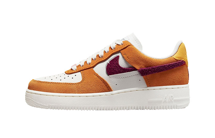 Nike Air Force 1 LXX Orange Maroon Womens DQ0858-100 featured image