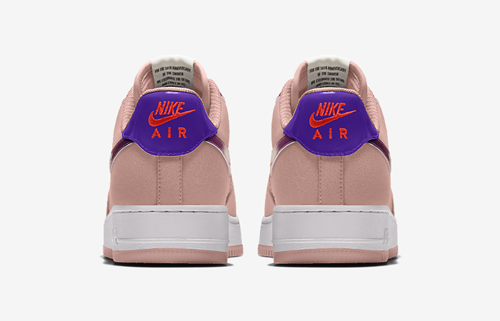 Nike Air Force 1 Low By You Unlocked Custom DO7958-991 back