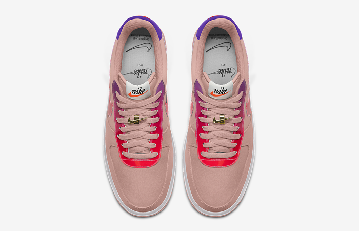 Nike Air Force 1 Low By You Unlocked Custom DO7958-991 up