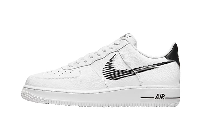Nike Air Force 1 Zig Zag White Black DN4928-100 featured image
