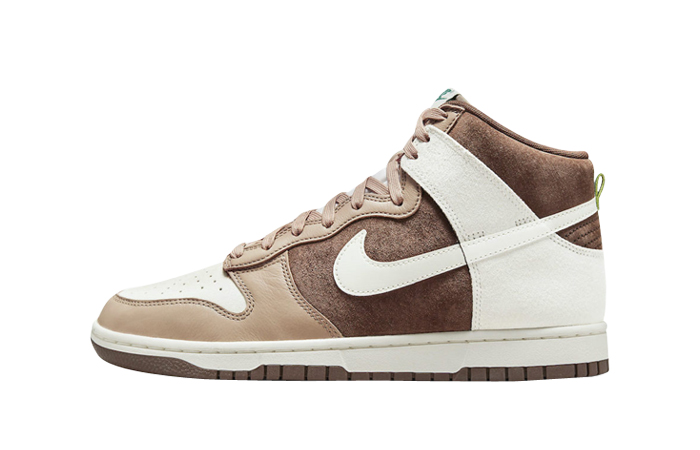 Nike Dunk High Sail Light Chocolate DH5348-100 featured image