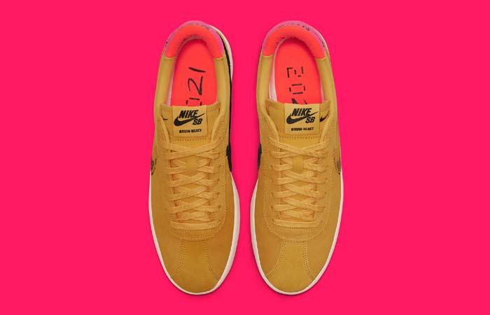 Nike SB Bruin React Rawdacious Pollen CV5980-700 up