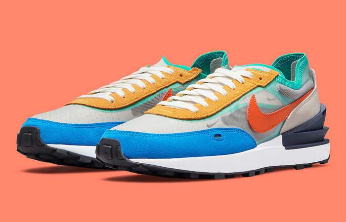 Nike Waffle One Multicolor DN9253-001 front corner