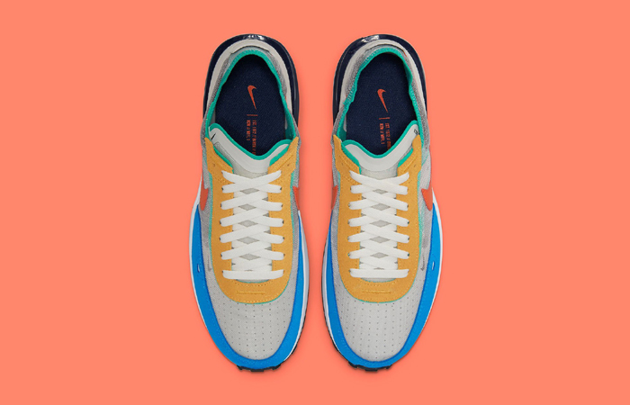 Nike Waffle One Multicolor DN9253-001 up