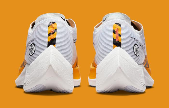 Nike ZoomX Vaporfly Next% 2 BRS White Gold DM7601-100 back