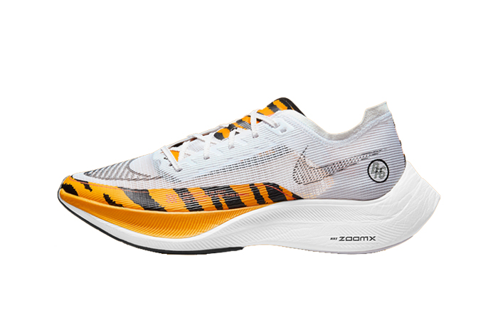 Nike ZoomX Vaporfly Next% 2 BRS White Gold DM7601-100 featured image