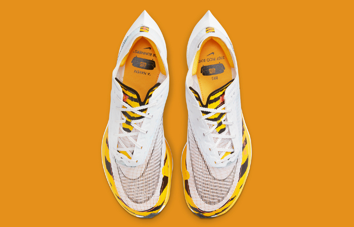 Nike ZoomX Vaporfly Next% 2 BRS White Gold DM7601-100 up