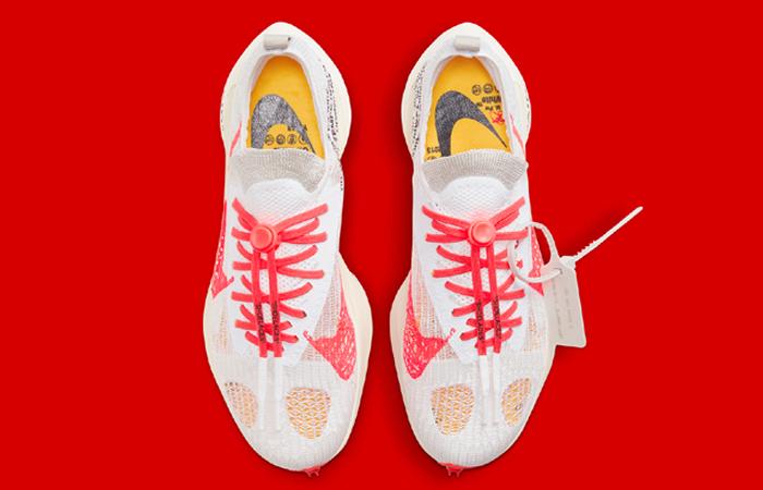 Off-White Nike Air Zoom Tempo NEXT% White CV0697-100 up